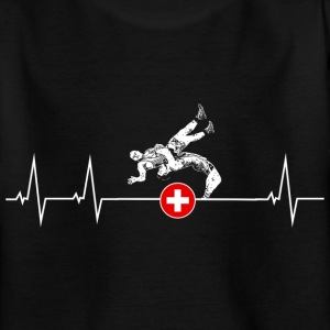 I love swings - Switzerland Shirts - Teenage T-shirt