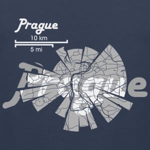 Prague Map Sports wear - Men's Premium Tank Top