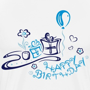 Geburtstag, happy birthday T-Shirts - Men's Premium T-Shirt