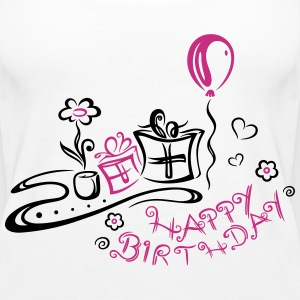 Geburtstag, happy birthday Tops - Frauen Premium Tank Top
