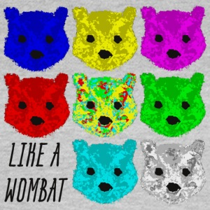 Like a Wombat T-Shirts - Frauen T-Shirt