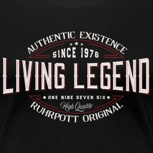 living legend since 1976  T-Shirts - Frauen Premium T-Shirt