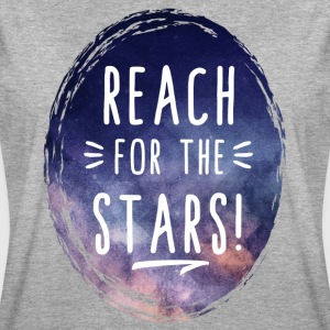 Reach for the Stars Frauen Oversize T-Shirt - Frauen Oversize T-Shirt