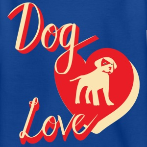 Dog Love_v2 - Teenage T-shirt