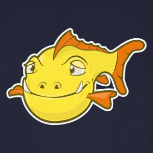 Happy Fish T-shirts - Mannen Bio-T-shirt