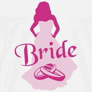 The Bride, Marriage T-Shirts - Men's Premium T-Shirt