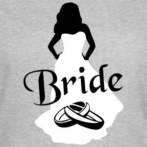 The Bride, Marriage - brude, bryllup T-shirts - Dame-T-shirt