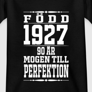 1927-90 years of perfection - 2017 - SE Shirts - Teenage T-shirt