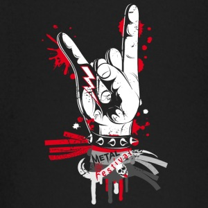 Metal and rock hand sign Baby Long Sleeve Shirts - Baby Long Sleeve T-Shirt