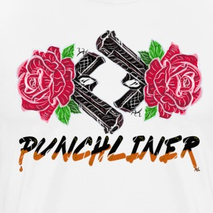 Rose And Gun - Punchliner - T-shirt Premium Homme