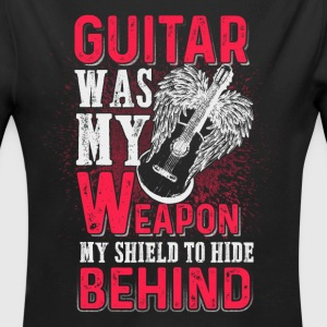 Guitar was my weapon - EN Bodys Bébés - Body bébé bio manches longues