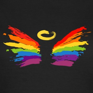 Gemaltes Engel-Design in Regenbogenfarben T-Shirts - Frauen T-Shirt