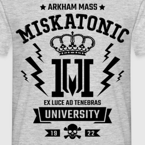 Miskatonic University T-Shirts - Men's T-Shirt
