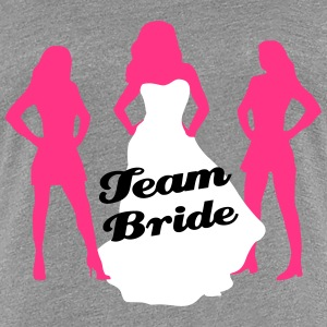 Team Bride, hen party, bachelorette party Tee shirts - T-shirt Premium Femme