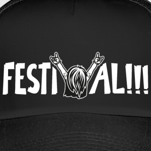 Festival Sommer Party Caps & Mützen - Trucker Cap