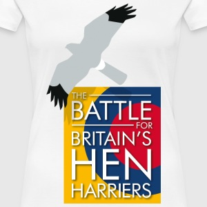 New for 2017 - Women's Hen Harrier Day T-shirt - Women's Premium T-Shirt