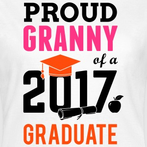 Class of 2017 Proud Granny Graduation T-Shirts - Women's T-Shirt