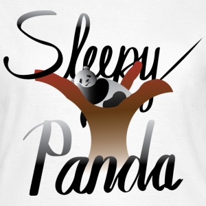Sleepy Panda - Women's T-Shirt