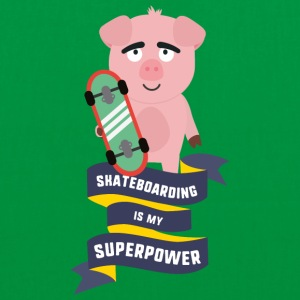 Skateboarding is my Superpower Saido Bags & Backpacks - Tote Bag
