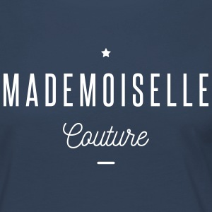 mademoiselle couture Manches longues - T-shirt manches longues Premium Femme