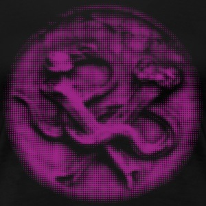 Snakes And Bones - Purple T-Shirts - Frauen Premium T-Shirt