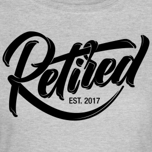 Retired EST. 2017 | Cool Logo Design T-Shirts - Frauen T-Shirt