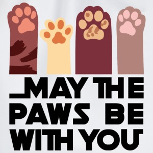 May the Paws be with you - Drawstring Bag