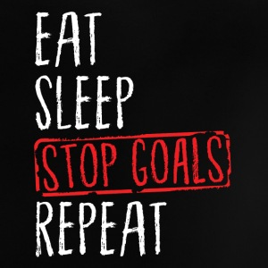 Lacrosse - Eat Sleep Stop Goals Repeat Baby T-shirts - Baby T-shirt