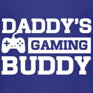 Daddys Gaming Buddy T-Shirts - Kinder Premium T-Shirt