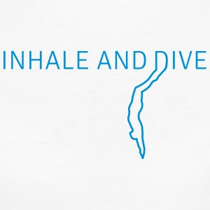 Inhale and Dive T-Shirts - Frauen Bio-T-Shirt