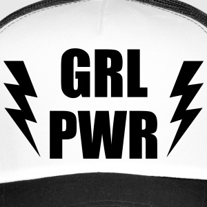 GRL PWR - GIRL POWER Caps & Mützen - Trucker Cap