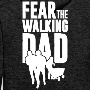 Fear the walking Dad, Vatertag. Bollerwagen Tour Pullover & Hoodies - Männer Premium Hoodie