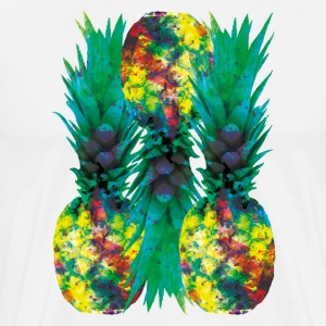 pineapples colors - Männer Premium T-Shirt