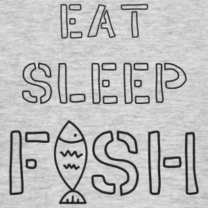 Eat sleep fish Tee shirts - T-shirt Homme
