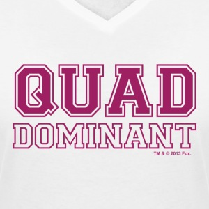 New Girl Schmidt Quad Dominant - Women's V-Neck T-Shirt