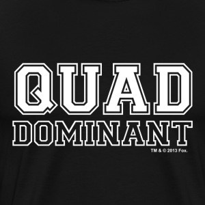 New Girl Schmidt Quad Dominant - Herre premium T-shirt