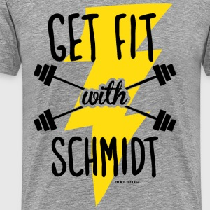 New Girl Get Fit With Schmidt - T-shirt Premium Homme