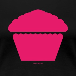 New Girl Jess Cupcake Muffin - Premium-T-shirt dam