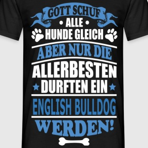 ENGLISH BULLDOG T-Shirts - Männer T-Shirt