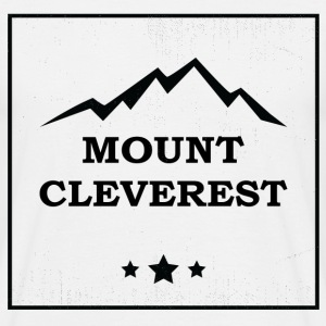 Nerd Mount Cleverest T-Shirts - Men's T-Shirt