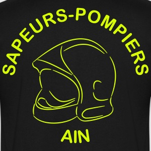 sapeurs-pompiers ain Tee shirts - T-shirt Homme col V