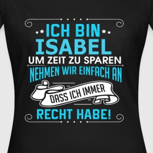 ISABEL T-Shirts - Frauen T-Shirt