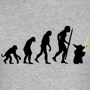 Evolution of the light side T-Shirts - Men's Slim Fit T-Shirt