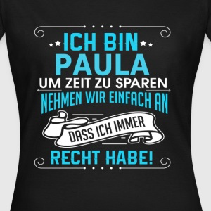 PAULA T-Shirts - Frauen T-Shirt
