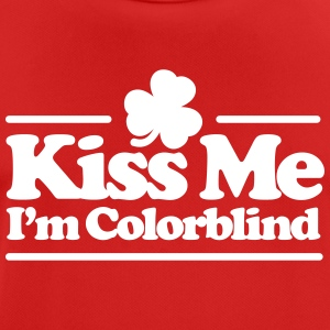 Kiss me I'm colorblind - St. Patricksday Irish T-Shirts - Men's Breathable T-Shirt