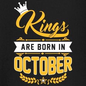 Kings are born in October Langermede T-skjorter for babyer - Langarmet baby-T-skjorte