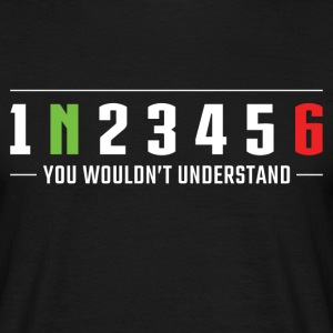 1N23456 You wouldn't understand Motorcycle gears T-Shirts - Men's T-Shirt