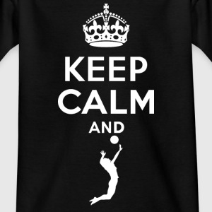 Keep Calm - Volleyball T-Shirts - Kinder T-Shirt