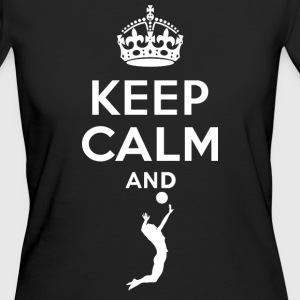 Keep Calm - Volleyball Camisetas - Camiseta ecológica mujer