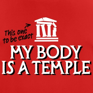 My body is a temple 2c T-Shirts - Men's Breathable T-Shirt